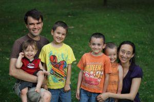 George & Sharon Markey and family