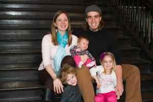 Jon and Steph Markey & Family