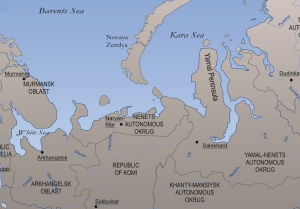 "Yamal translates as ""the ends of the earth"" and is located in northern Russia"