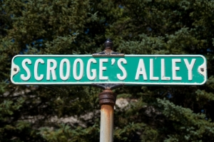 scrooge alley