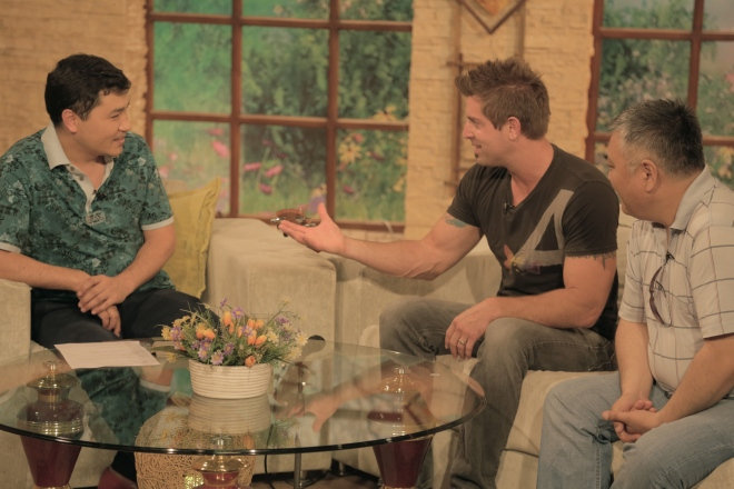Interview with Jeremy Camp on Kyrgyz National Television