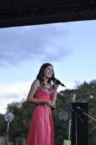 Lika Roman, Miss Ukraine 2007, sharing her story