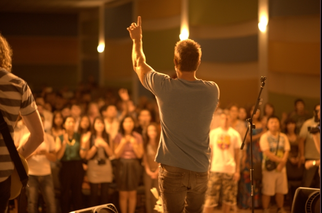 Worship at Youth Night